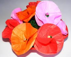 tissue paper flowers printable instructions tissue paper flowers jpg