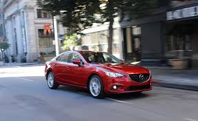 mazda 6 or mazda 3 2014 mazda 6 i sport test u2013 review u2013 car and driver