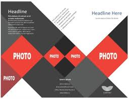 fold brochure template template tri fold brochure