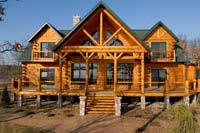 golden eagle log and timber homes log home log cabin kit