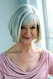 Bob Frisuren F Graues Haar by Nette Bob Frisuren Für ältere Damen Neue Frisur Stil