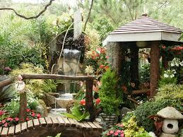 Theme Garden Ideas Imposing Small Tropical Theme Home Garden Design Front Yard