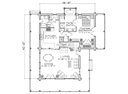 timber ridge log home floor plan