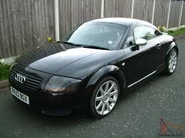 audi tt 1 8 turbo quattro coupe full service history black