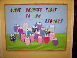 the images collection of in student library bulletin board
