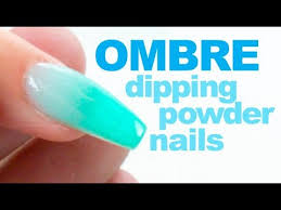 dip powder ombre nail tutorial with chisel dipping powder youtube