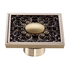 Bathroom Shower Drain Covers Custom Antique Bronze Bathroom Floor Decorative Shower Drains