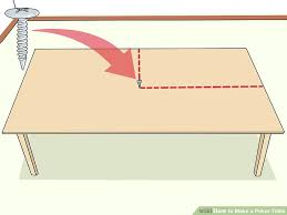 how to make a poker table how to make a poker table 14 steps with pictures wikihow
