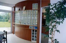 brique de verre cuisine saverbat exemple de réalisation cloison en briques de verre