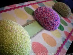 styrofoam easter eggs easter styrofoam eggs plaque craft o maniac