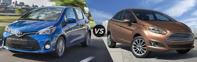 toyota yaris or ford 2017 toyota yaris hatchback vs 2017 ford