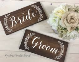 mr and mrs wedding signs mr and mrs wedding signs etsy