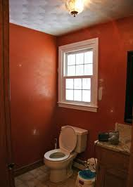 Orange Powder Room 5 Inspiring Bathroom Makeovers