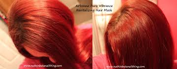Washing Hair After Coloring Red - nuthin u0027 but a nail thing arbonne pure vibrance shampoo and