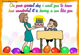 son birthday cards wonderful son birthday cards free son