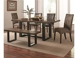 Mix Furniture Coaster Westbrook Dining Casual Rustic 6 Piece Mix And Match