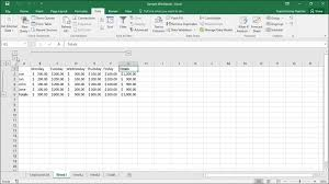 outline excel data in microsoft excel instructions