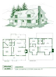 44 floor plans for log homes home house ranch brilliant open with