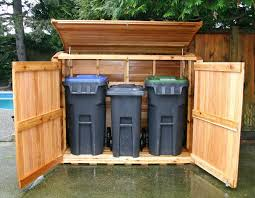 Free Wood Shed Plans 10x12 by Astonishing Garbage Pail Storage Sheds 40 On 10x12 Storage Shed