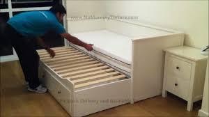 bedrooms pop up trundle bed frame trundle bed trundle daybed