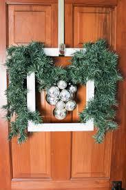 how to create a diy christmas frame wreath goodwill industries
