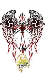 tribal cross tattoo by ajurdi on deviantart