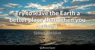 A Place When Better Place Quotes Brainyquote