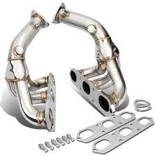 porsche boxster 987 exhaust 08 porsche boxster 987 cayman pair of stainless steel 3 1 racing