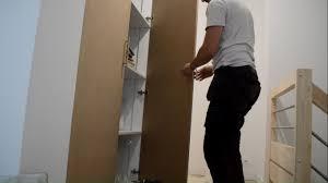 porte de placard de cuisine sur mesure portes de placard battantes 120cm de large en mdf charnière