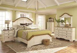 coaster oleta 4 piece panel bedroom set in buttermilk