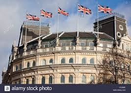 The Grand Union Flag Union Flags Fluttering On Top Of The Grand Buildings Building