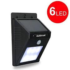 bright outdoor solar lights motion sensor detector no battery