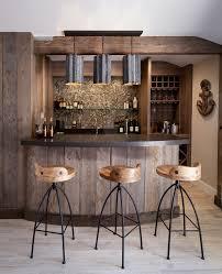 Home Bar Decor Rustic Bar Decor Home Bar Beach Style With Reclaimed Wood Bar