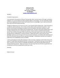 recreation therapist cover letter respiratory therapist cover