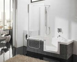 bathroom shower tub ideas bathtub shower combo with jets in sparkling shower tub along with