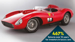 ferrari classic race car classic cars get top marques as high powered assets