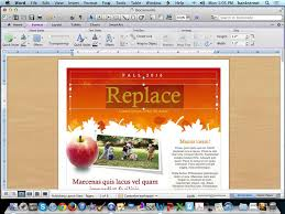 create a newsletter using microsoft word templates youtube