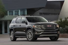 nissan pathfinder vs gmc acadia 2018 gmc acadia features review the car connection