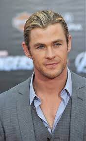 Blonde Male Celebrities | a long blonde hairstyle from the celebrity hairstyles collection no