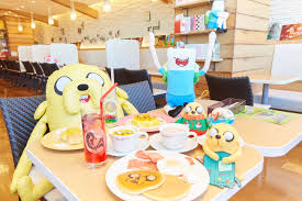 photo report u0027adventure time u0027 themed cafe sweets paradise