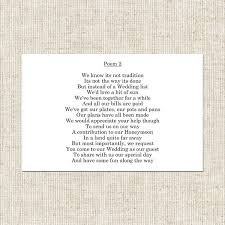 wedding gift poems tying the knot gift poem card wedding stationery