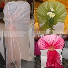 chair tie backs 9 best chair covers tie backs images on wedding
