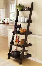 Walnut Ladder Bookcase 30 Cute Ladder Shelf Examples