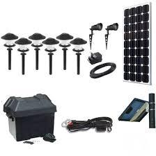 Landscape Lighting Sets Solar Landscape Lighting Kit