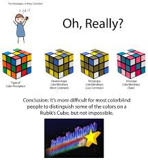 the advantages of being colorblind are highly overstated funny