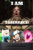 Threesome Memes - laughing at taserface meme by magmon47 on deviantart