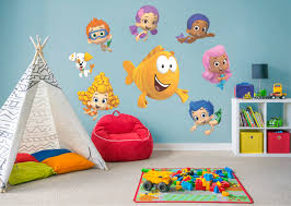bubble guppies collection wall decal shop fathead for bubble