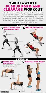Dumbbell Exercises Chest No Bench - best 25 chest workout women ideas on pinterest chest and arm