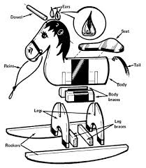 download rocking horse plans free print ready pdf rocking horses