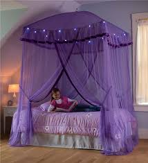 Bed Canopy With Lights Sparkling Lights Canopy Bower Bed Canopies Hearthsong